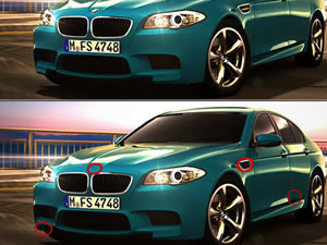 BMW M5 Differences