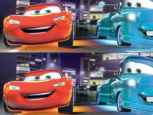 Disney Cars Differences