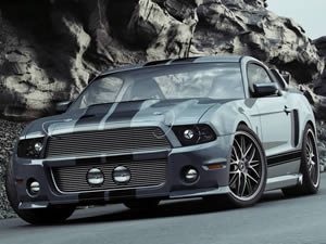 Ford Mustang Jigsaw