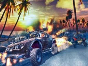 Offroad Kart Beach Stunts