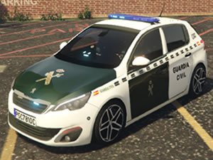 Peugeot Police Differences