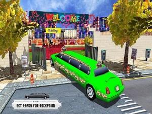 Wedding City Limo Car Game