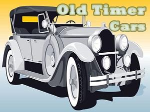 Old Timer Cars Jigsaw