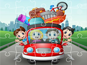 Vacation Cars Jigsaw